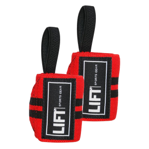 "LIFT Sports Gear S3 12"" Wraps Red Black"