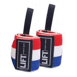 "LIFT Sports Gear S3 18"" Wraps Red White Blue"