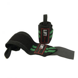 "LIFT Sports Gear S3 12"" Wraps Black Green"