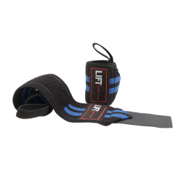 "LIFT Sports Gear S3 18"" Wraps Black Blue"