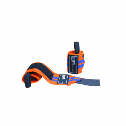 "LIFT Sports Gear S3 12"" Wraps Orange Blue"