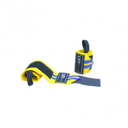 "LIFT Sports Gear S3 12"" Wraps Yellow Blue"